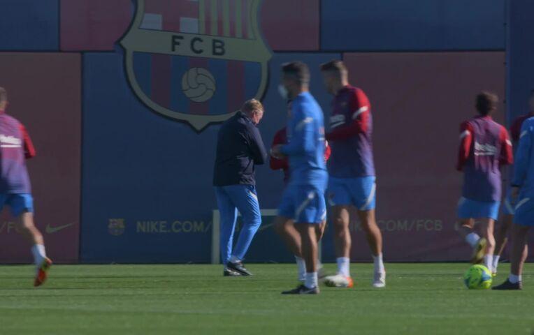 Sierd bezoekt voorlaatste Barcelona training