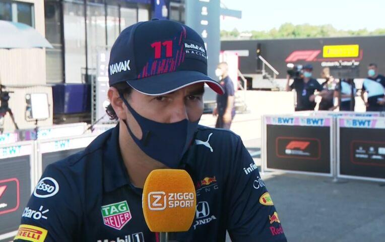 Pérez: 'De Red Bull doet het vaak prima hier, dus het podium is zeker haalbaar'