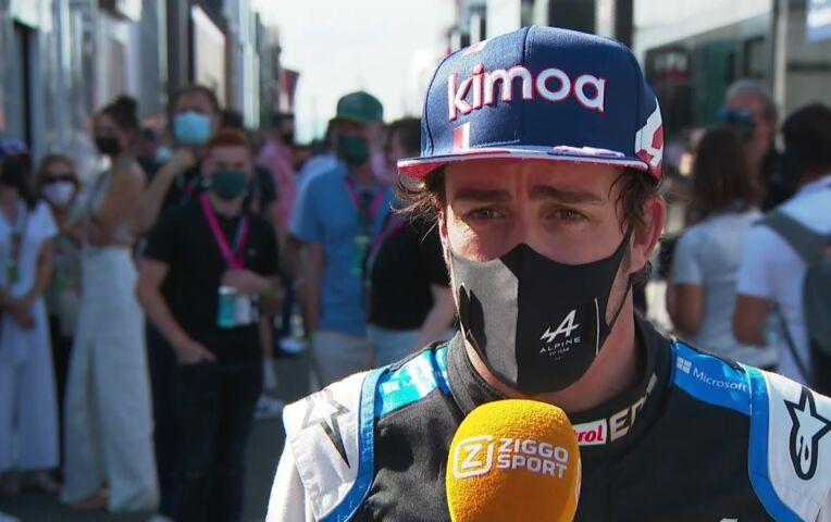Alonso: 'We hebben niet de luxe om met gele banden te rijden'