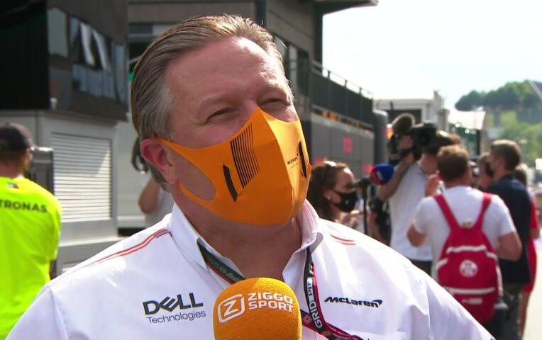 Brown: 'Een hele goede race! Maar vraagtekens bij de penalty's, laat die jongens racen'