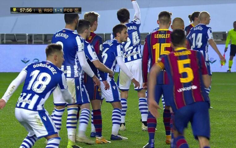 Real Sociedad - Barcelona (halve finale Supercopa) (lange samenvatting)
