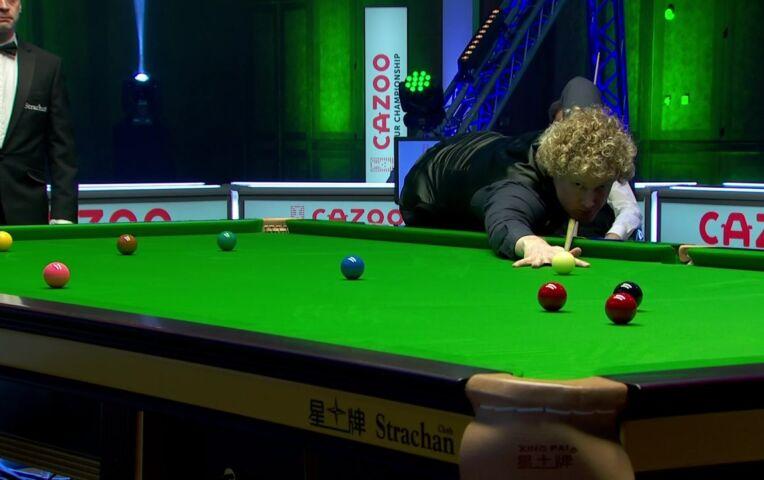 Robertson naar halve finale Snooker Tour Championship