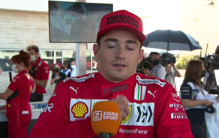 Leclerc: 'Dit wordt een mooie race'