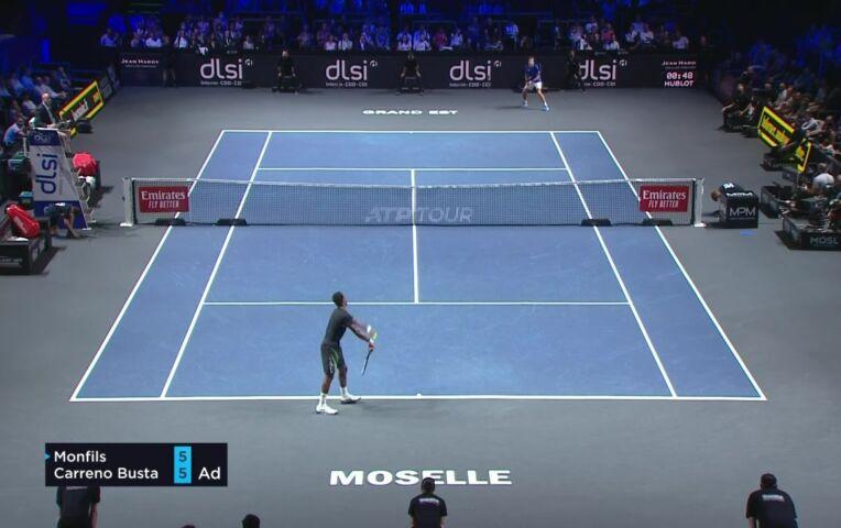 Carreno Busta naar de finale Moselle Open