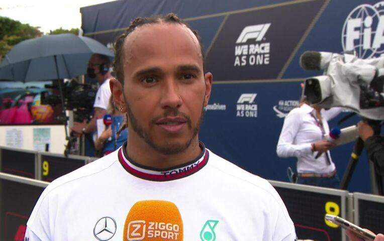 Hamilton: 'Blij met het resultaat gezien hun snelheid'