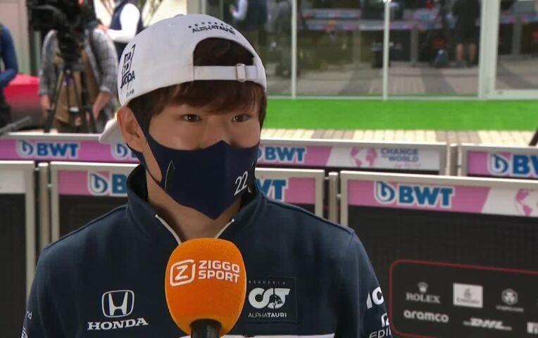 Tsunoda: 'Het is fijn om wat extra zelfvertrouwen te hebben van de afgelopen races'