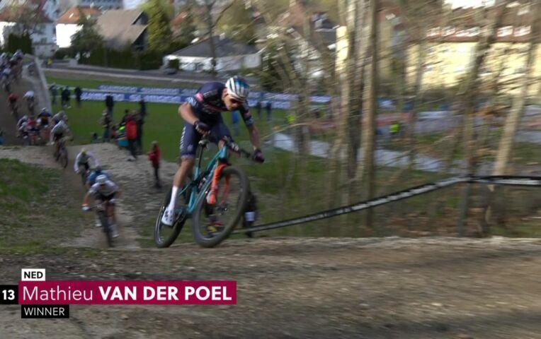 Winnaar Van der Poel: 'Vooral bezig met punten voor Spelen'
