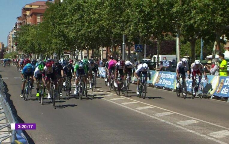 Molano wint weer een etappe in de Ronde van Burgos