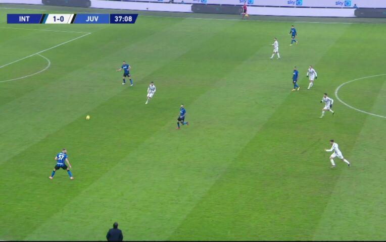 Internazionale - Juventus (lange samenvatting)