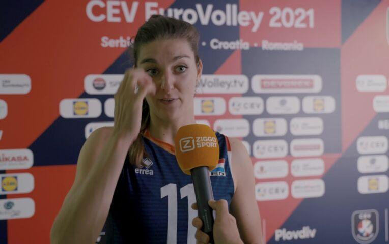 Anne Buijs: 'We begonnen best nerveus'