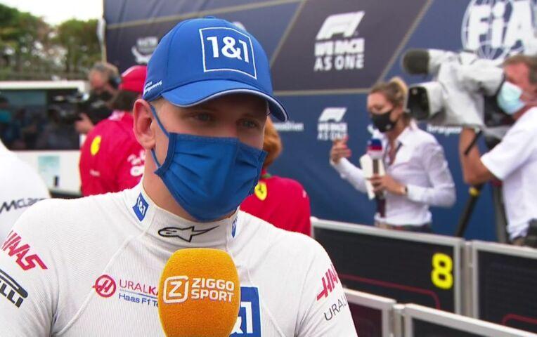 Schumacher: 'Een beetje pech, maar over het algemeen best goed'