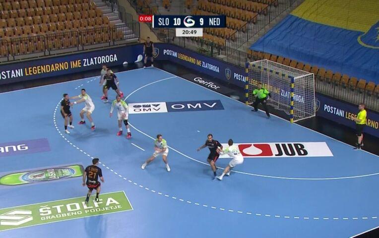 EK Handbal Kwalificatie Mannen: Slovenië - Nederland