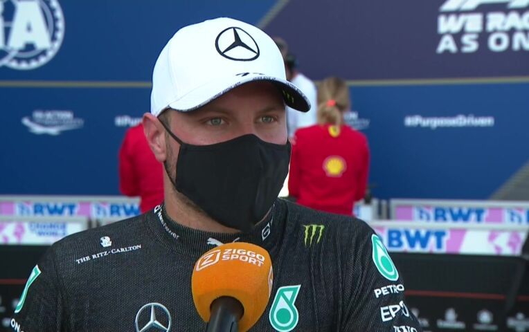 Bottas: 'We hebben dit voor de race besproken, dus het is goed zo'
