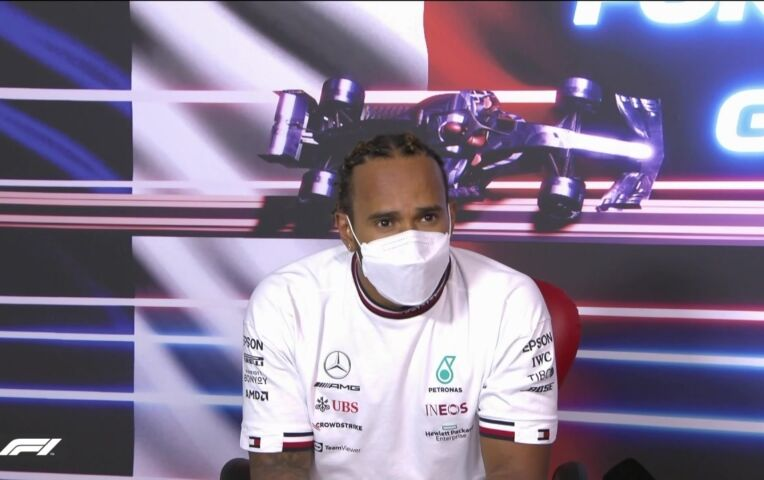 Persconferentie na de GP van Frankrijk